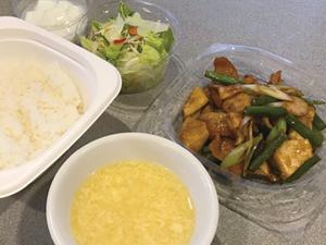テイクアウト-ランチ-豚とろ炒め